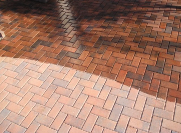 wet look for brick pavers in ellentown fl
