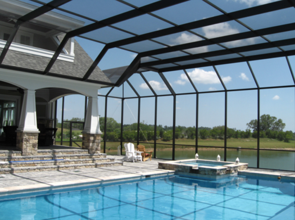 Pool cage cleaner sarasota pressure washing pool screen - Swimming pool screen enclosures cost ...