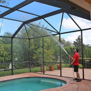 pool cage cleaning in ellenton fl