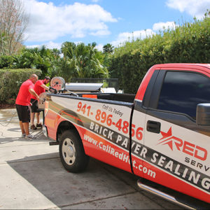 best brick paver sealing and power washing in the Sarasota County area