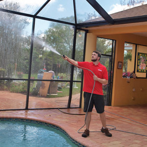 professional pool cage cleaning in florida