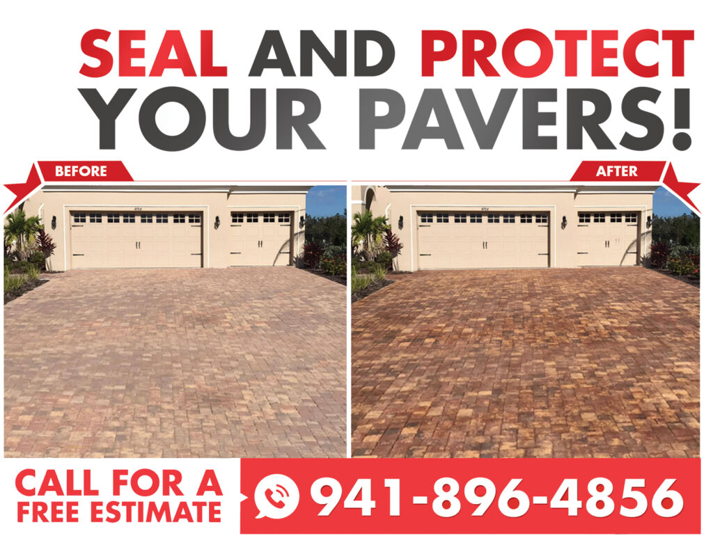 brick paver sealing in Sarasota FL