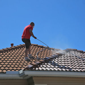 Power Wash Your Roof
